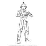 How to Draw Ultraman Nexus