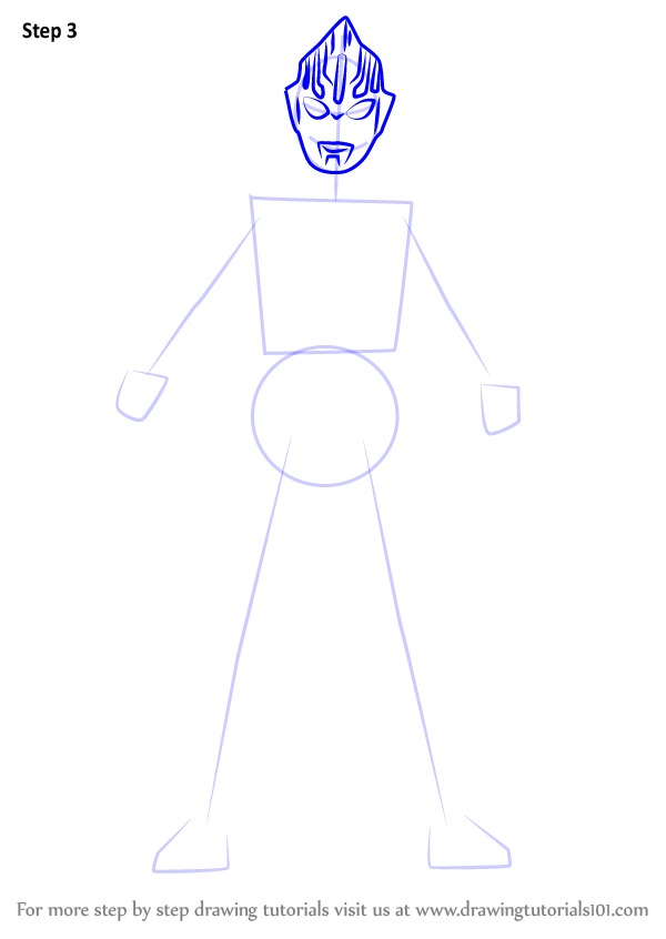 Learn How to Draw Ultraman Orb (Ultraman) Step by Step ... | 600 x 846 png 28kB