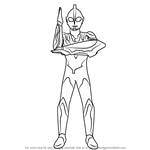 How to Draw Ultraman Ribut