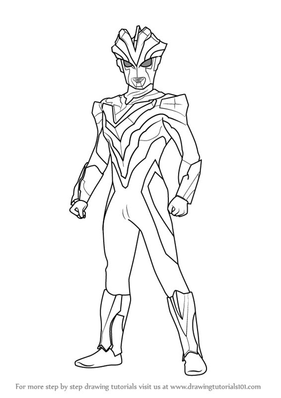 ultraman coloring pages - photo#13