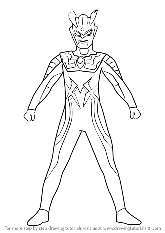 ultraman orb coloring coloring pages   coloring page
