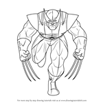How to Draw an Angry Wolverine