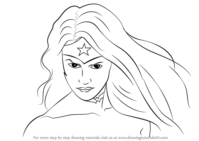 Learn How to Draw Wonder Woman