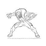 How to Draw Sabretooth from X-Men