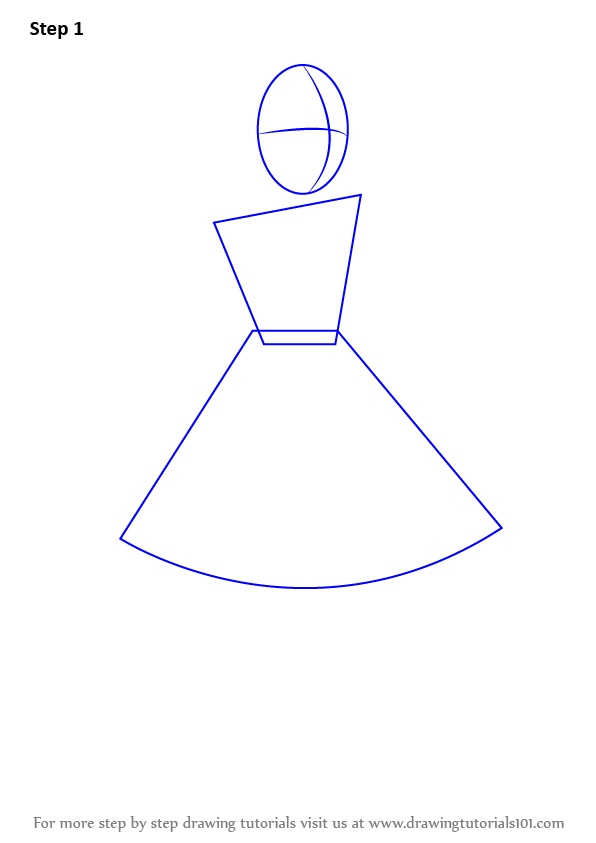 Learn How To Draw Alice From Alice In Wonderland Alice In Wonderland Step By Step Drawing Tutorials