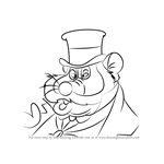 How to Draw Honest John from An American Tail