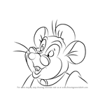 How to Draw Mama Mousekewitz from An American Tail