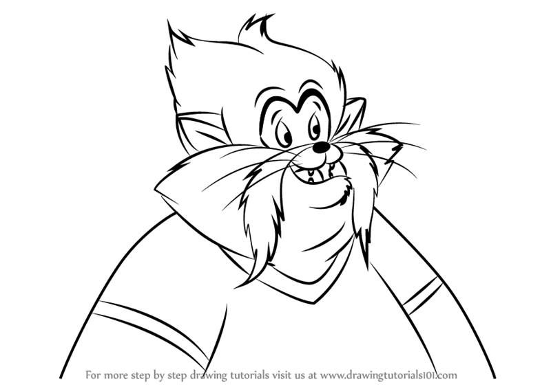 free fibel goes west coloring pages | Step by Step How to Draw Tiger from An American Tail ...