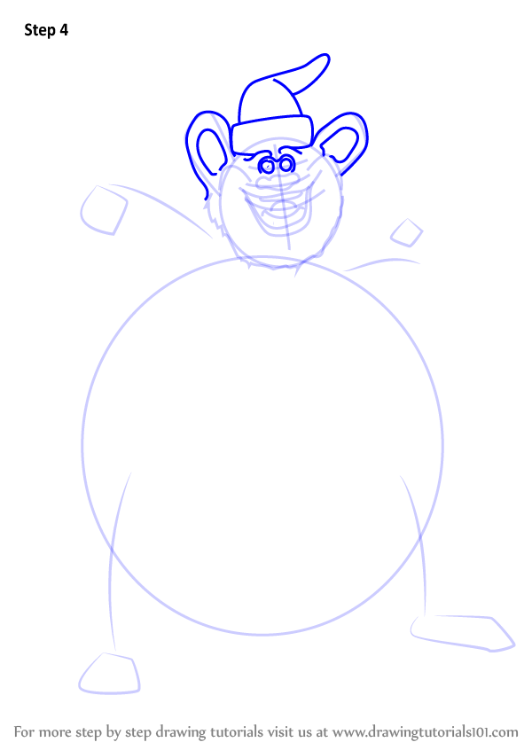 Learn how to draw biggie cheese from barnyard barnyard for How to draw cheese step by step