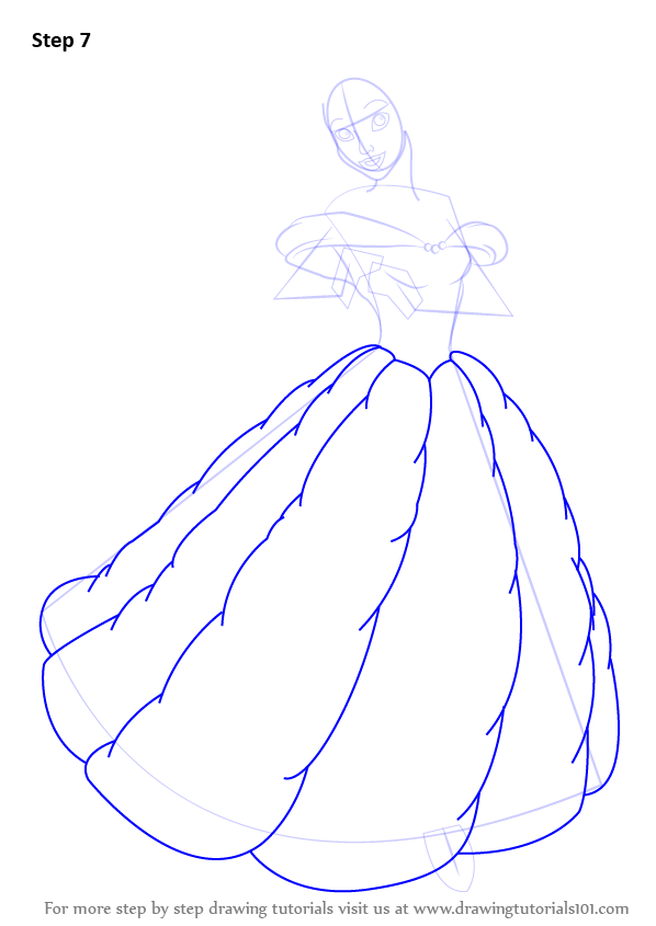 Beauty and the beast beauty and the beast step by step drawing