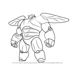 How to Draw Baymax 2.0 from Big Hero 6