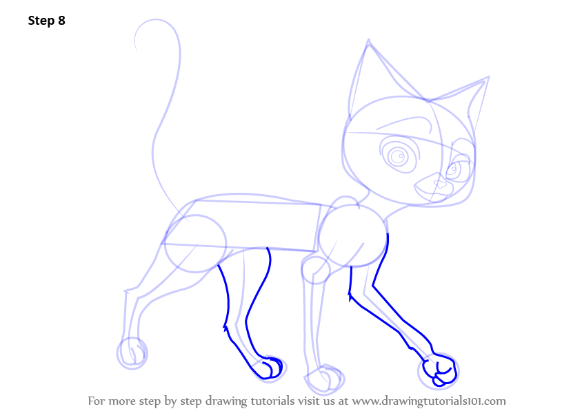 how to make a cat drawing