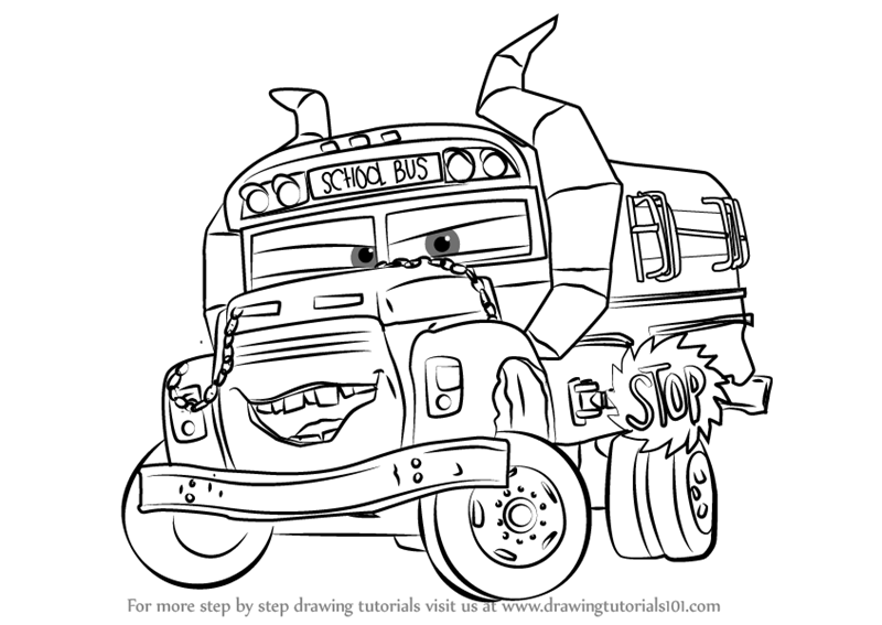 cars toons coloring pages - photo#16