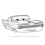 How to Draw Ramone from Cars 3