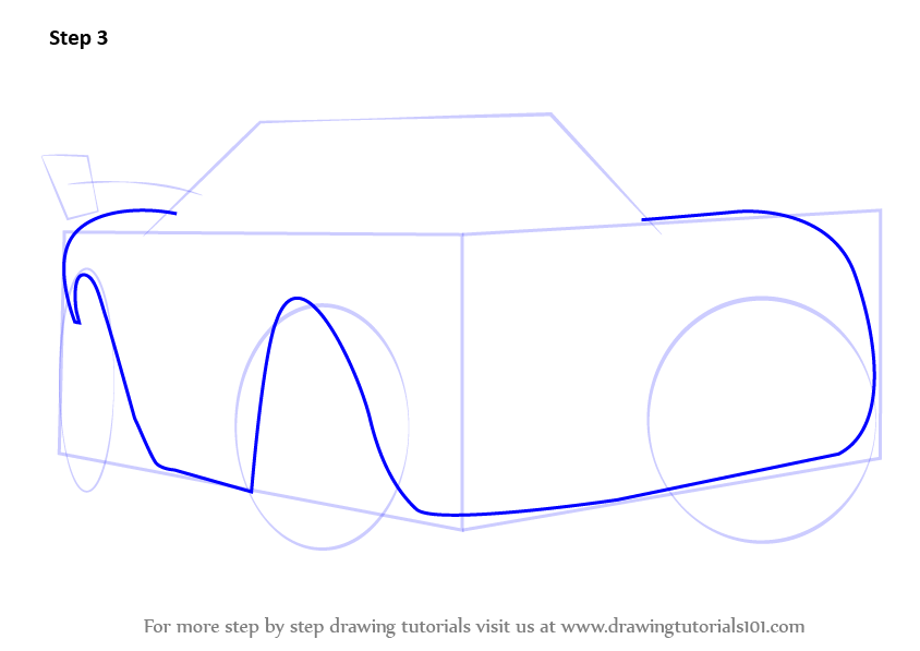how to draw trucks and cars step by step