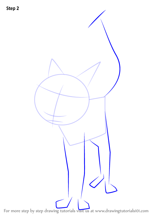 Learn How to Draw Cat from Coraline (Coraline) Step by ...