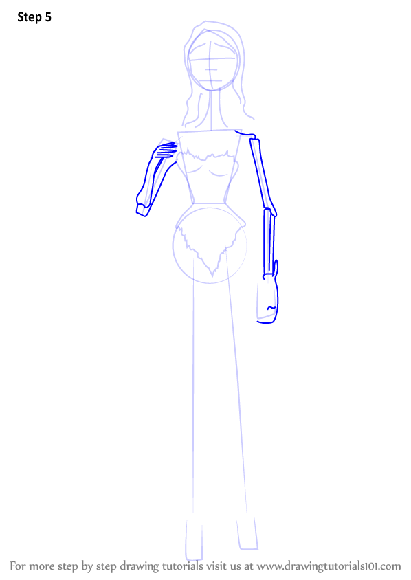 learn how to draw emily from corpse bride  corpse bride  step by step   drawing tutorials