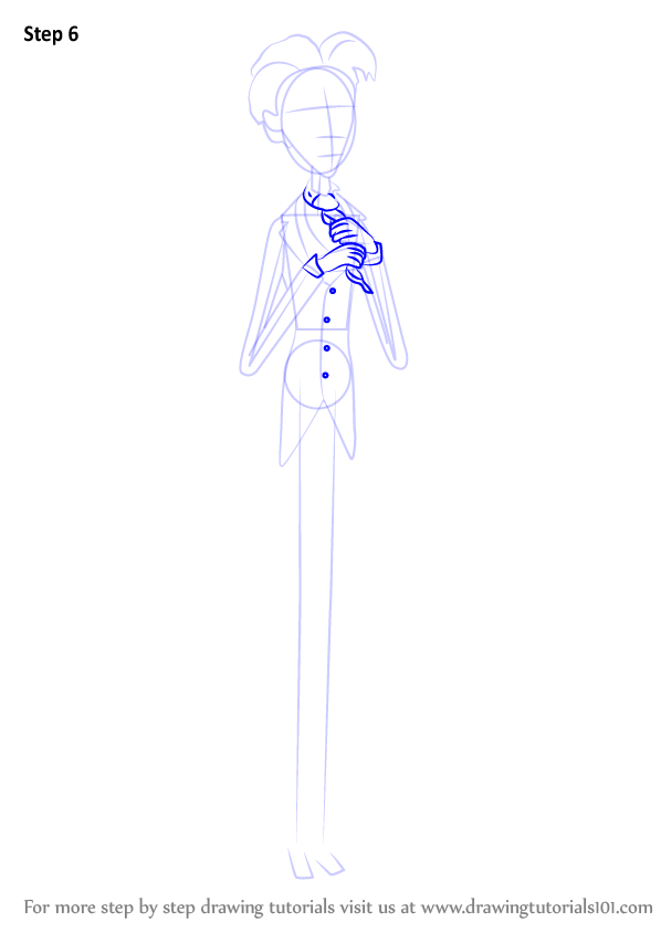 how to draw emily from corpse bride