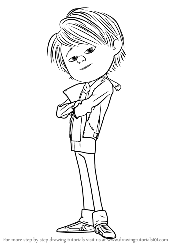 Learn How To Draw Antonio Perez From Despicable Me 2