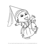 Learn How to Draw Agnes from Despicable Me Despicable Me Step by
