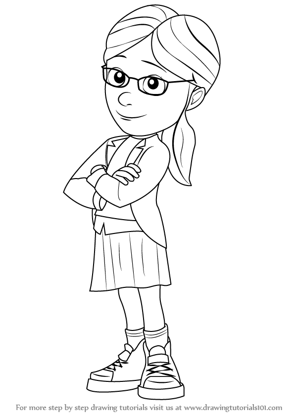 learn how to draw margo from despicable me despicable me