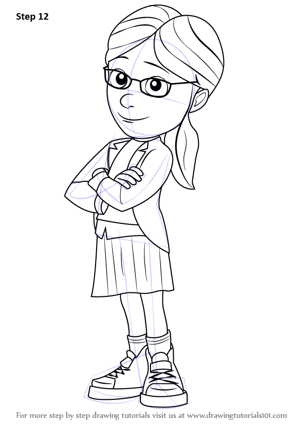 Learn How to Draw Margo from Despicable Me Despicable Me Step by