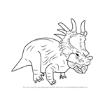 How to Draw Eema from Disney Dinosaur