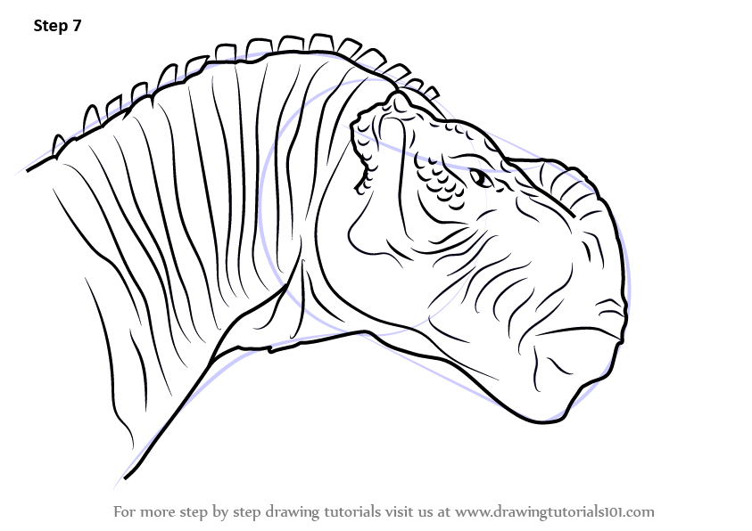 Learn How To Draw Kron From Disney Dinosaur Disney