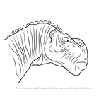 How to Draw Kron from Disney Dinosaur