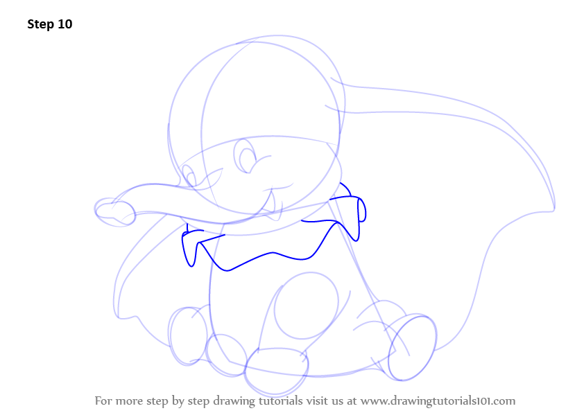 Gallery For gt Elephant Cartoon Drawing Dumbo