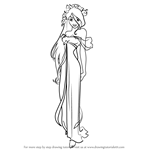 How to Draw Princess Giselle from Enchanted