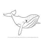 How to Draw Humpback Whale from Fantasia
