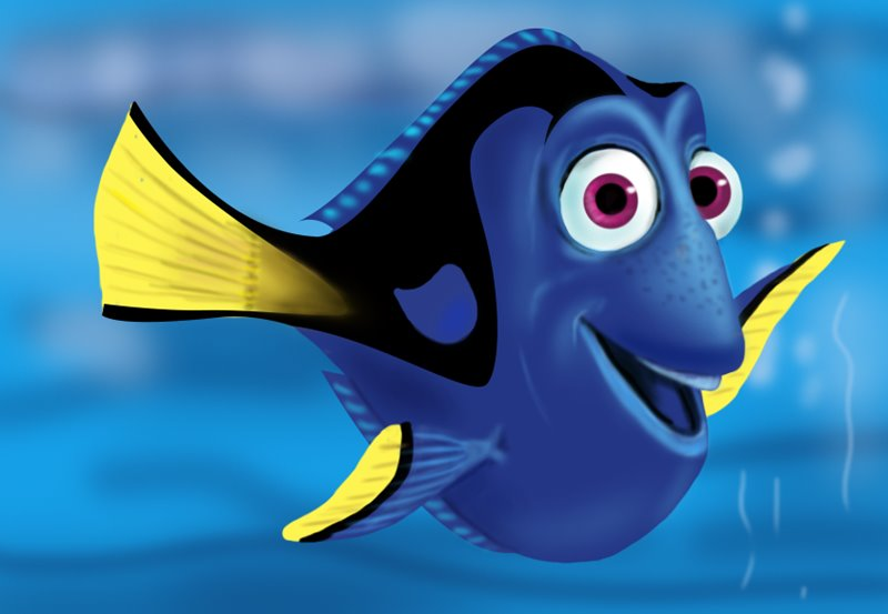Learn how to draw dory from finding nemo finding nemo - Nemo et doris ...