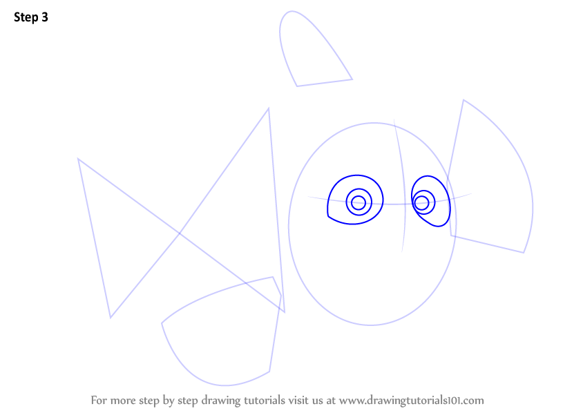 how to draw nemo characters