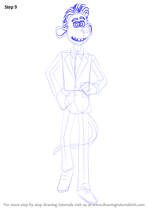 Learn How To Draw Roddy St James From Flushed Away