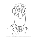 How to Draw Professor Hinkle from Frosty the Snowman