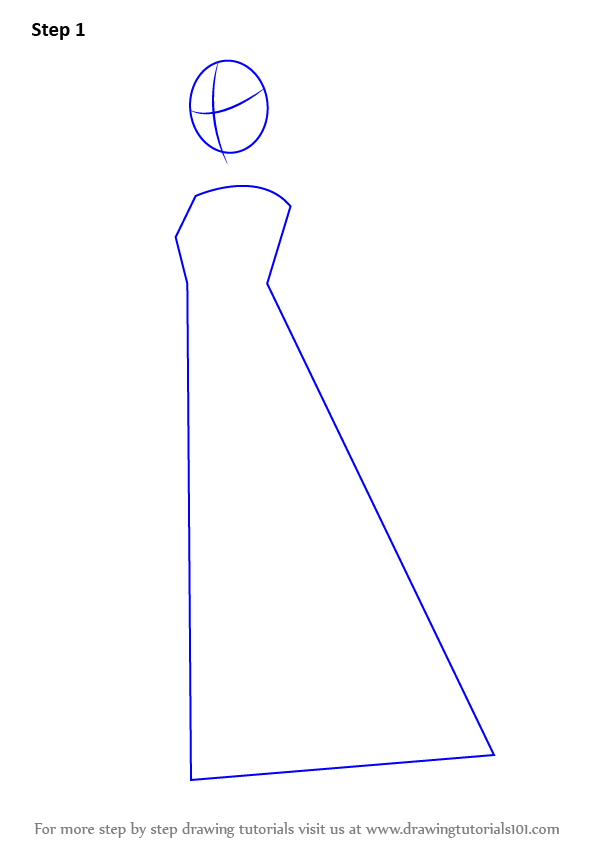 learn how to draw body for dress