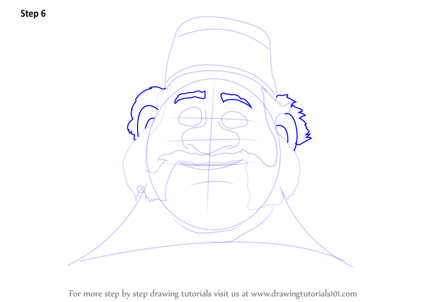 Learn How to Draw Oaken from Frozen (Frozen) Step by Step : Drawing ...