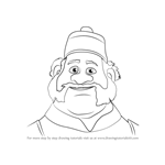 How to Draw Oaken from Frozen