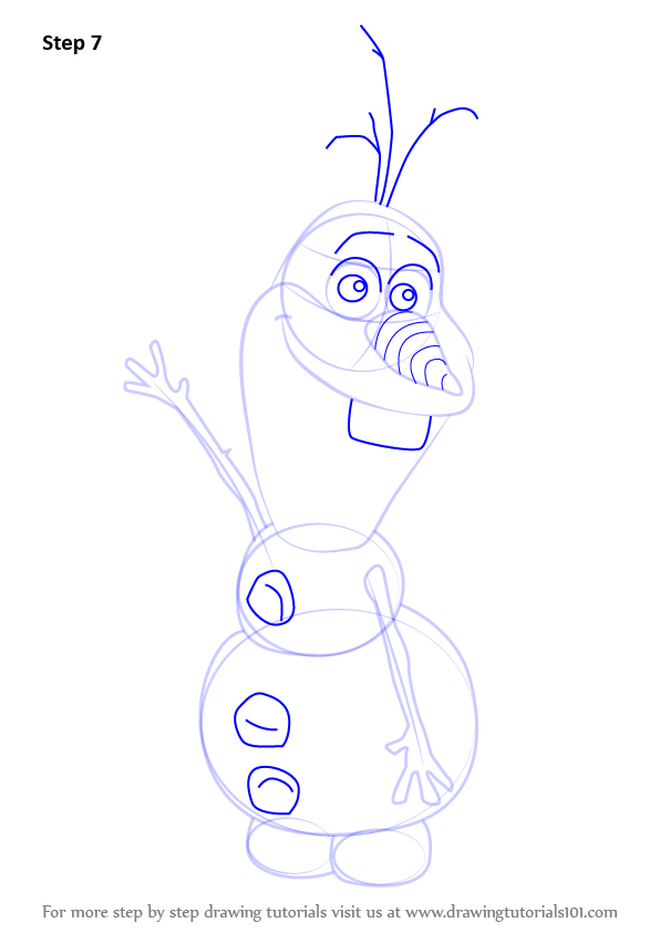 ... How to Draw Olaf from Frozen (Frozen) Step by Step : Drawing Tutorials