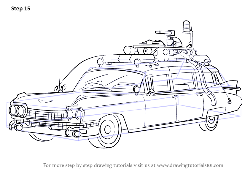 Learn How to Draw The Ghostbusters
