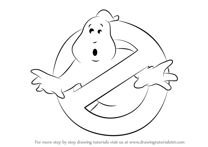 Learn How to Draw Ghostbusters
