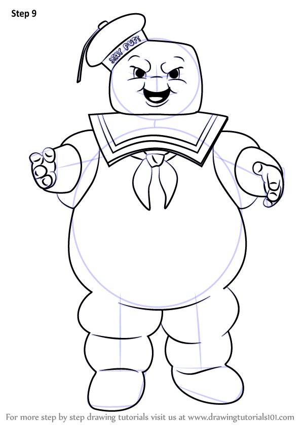Fortnite Marshmallow Man Coloring Pages