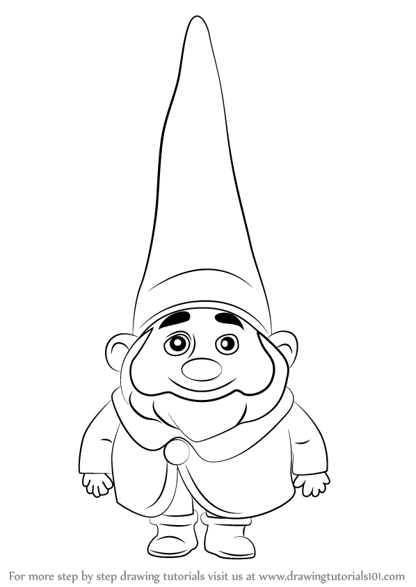 Step by Step How to Draw Benny from Gnomeo & Juliet ...