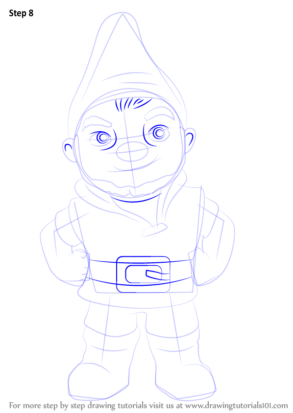 Learn How to Draw Gnomeo from Gnomeo & Juliet (Gnomeo ...