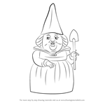 How to Draw Lady Bluebury from Gnomeo & Juliet