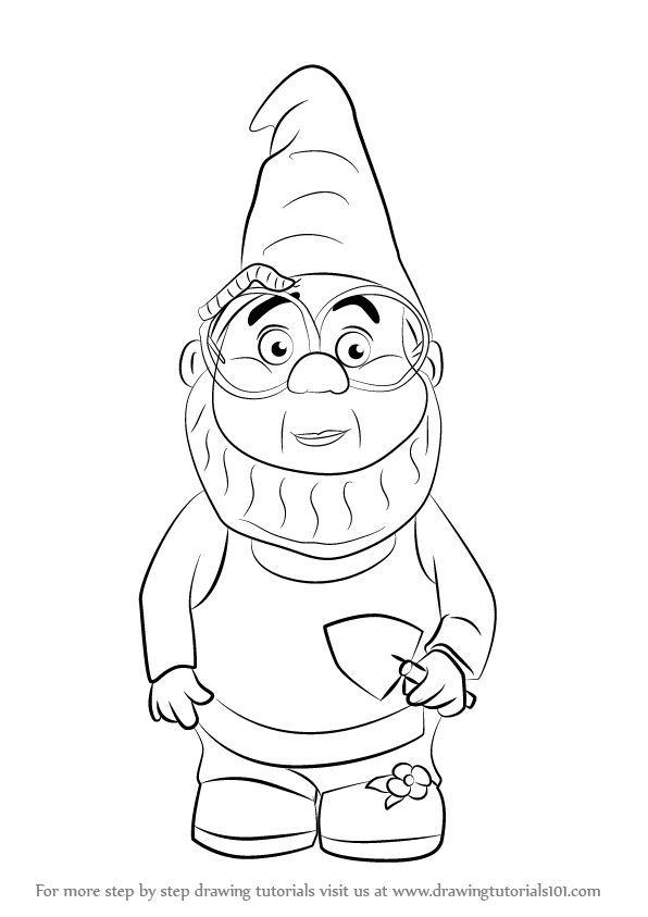 Learn How to Draw Paris from Gnomeo & Juliet (Gnomeo ...