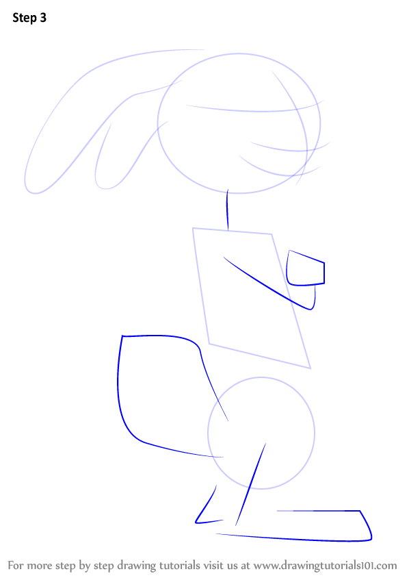 Learn How To Draw Eb From Hop Hop Step By Step Drawing