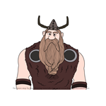How to Draw Hoark the Haggard from How To Train Your Dragon 3
