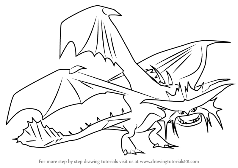 Drawing Tutorials Tags Dragons Coloring Pages Printable